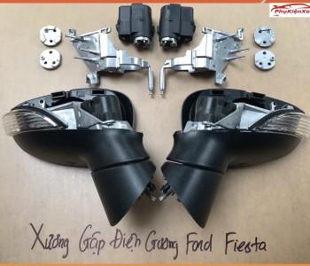 Khung xương Fiesta, mô tơ gương Fiesta, độ gập gương điện Fiesta