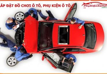 Hướng dẫn lắp đặt đồ chơi ô tô